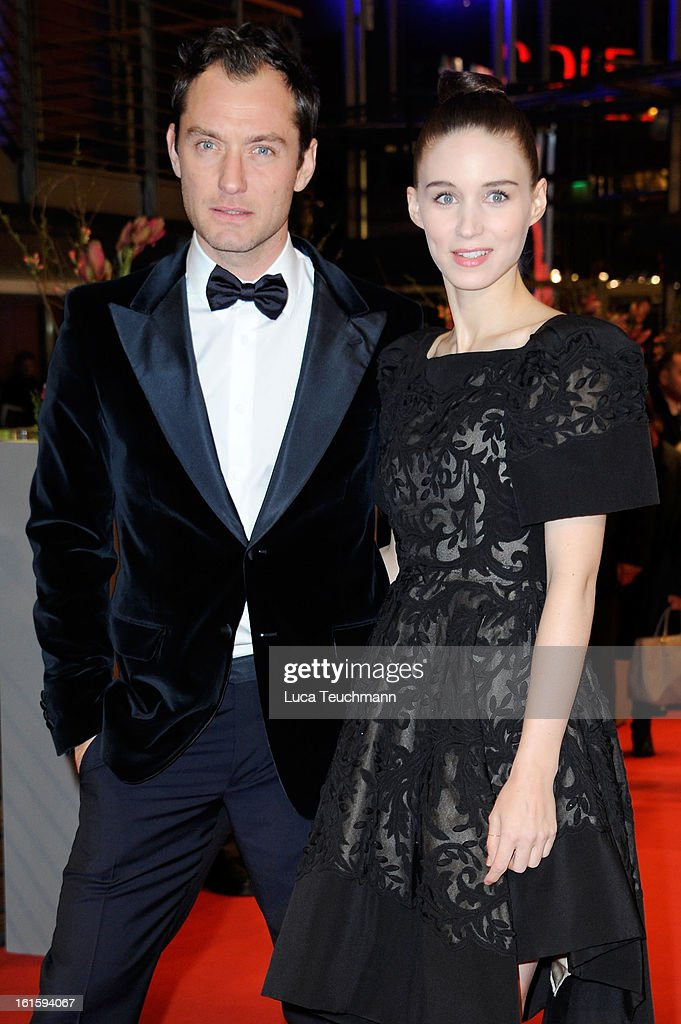 Actors Jude Law and Rooney Mara attend the 'Side Effects' Premiere during the 63rd Berlinale International Film Festival at Berlinale Palast on February 12, 2013 in Berlin, Germany.