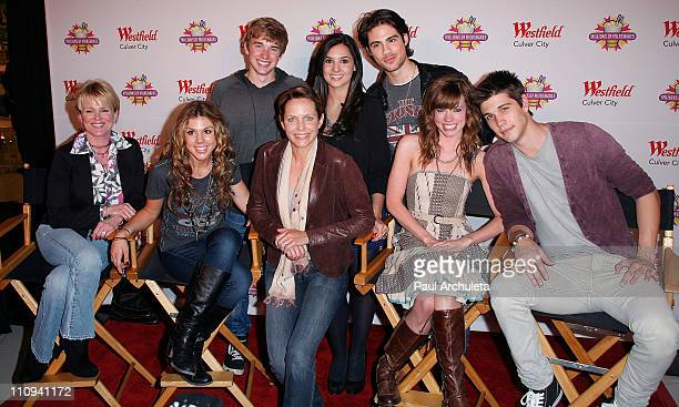 Actors Judi Evans Kate Mansi Chandler Massey Arianne Zucker Camila Banus Francisco San Martin Molly Burnett and Casey Jon Deidrick attend the 'Days...
