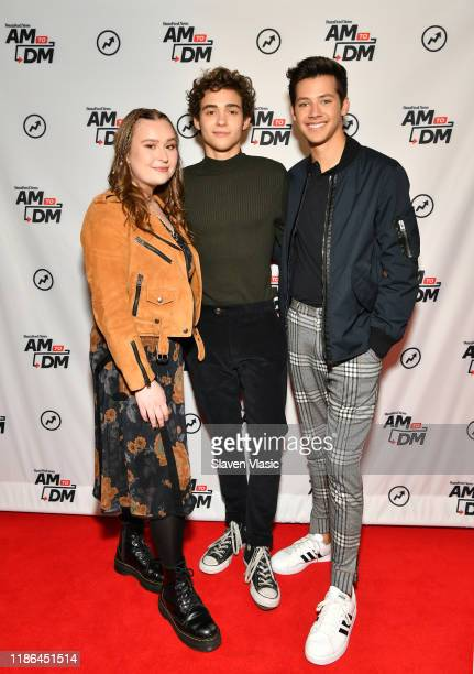"Actors Julia Lester, Joshua Bassett, and Matt Cornett visit BuzzFeed's ""AM To DM"" to discuss Disney+ web television series ""High School Musical: The..."