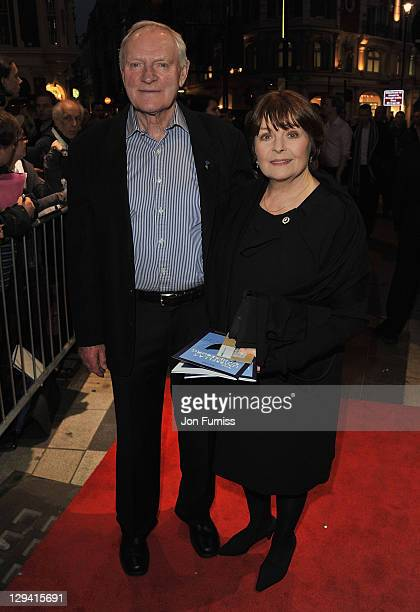 """Actors Julian Glover and Isla Blair attend """"The Umbrellas of Cherbourg"""" Theatre Press Night at the Gielgud Theatre on March 22, 2011 in London,..."""