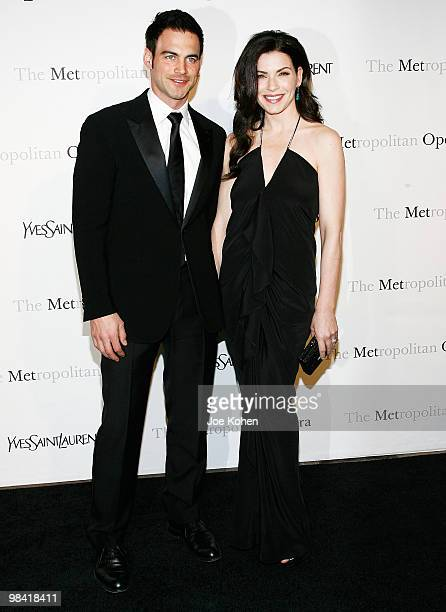 Actors Julianna Margulies and husband Keith Lieberthal attend the Metropolitan Opera gala permiere of 'Armida' at The Metropolitan Opera House on...