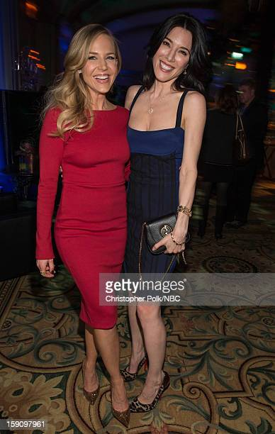 Actors Julie Benz and Jaime Murray at the NBCUniversal 2013 TCA Winter Press Tour Party held at The Langham Huntington Hotel and Spa on January 7...