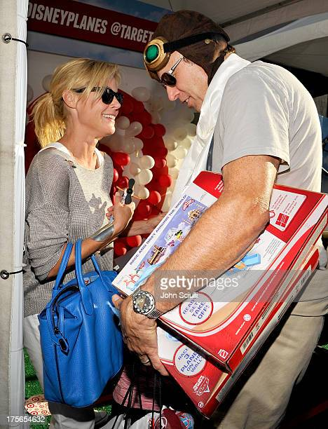 Actors Julie Bowen and Kevin Nealon at the worldpremiere of 'Disney's Planes' presented by Target at the El Capitan Theatre on August 5 2013 in...