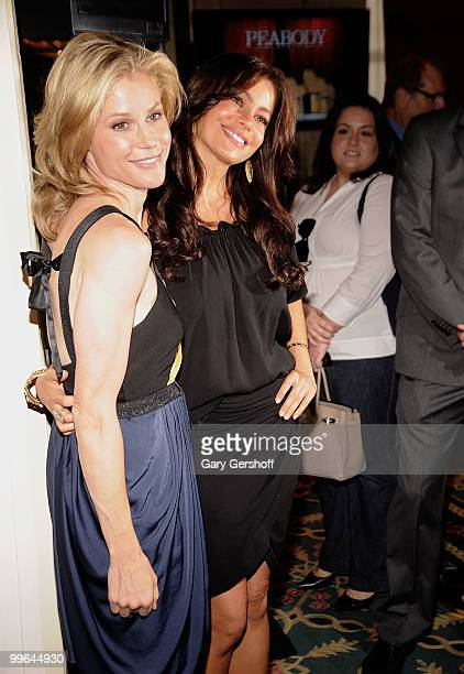 Actors Julie Bowen and Sofia Vergara attend the 69th Annual Peabody Awards at The Waldorf=Astoria on May 17 2010 in New York City