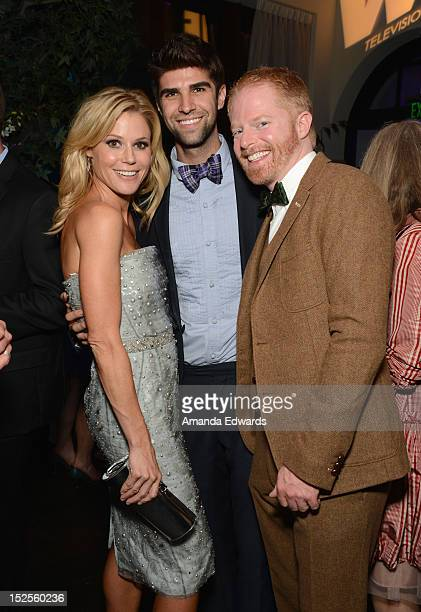 Actors Julie Bowen, Justin Mikita and Jesse Tyler Ferguson attend Variety and Women in Film Pre-EMMY Event presented by Saint Vintage at Scarpetta...