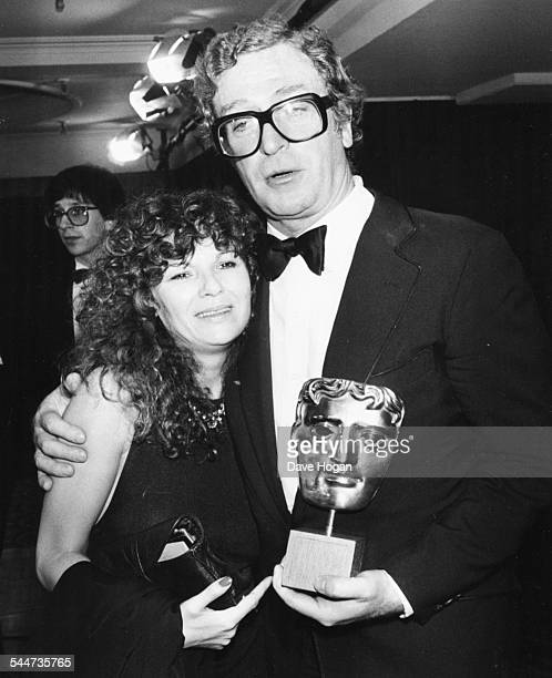 Actors Julie Walters and Michael Caine at the BAFTA Awards, where they were voted Best Actor and Actress for the film 'Educating Rita', London, March...