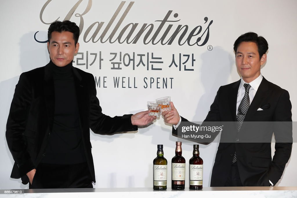"Pernod Ricard Korea Ballantine's ""Time Well Spent"" Campaign - Photocall"