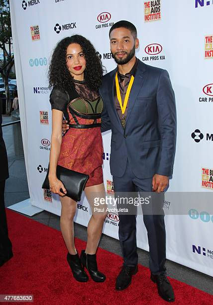 Actors Jurnee Smollett and Jussie Smollett attend the Black AIDS Institutes 2015 Heroes In The Struggle gala reception and awards ceremony at The...