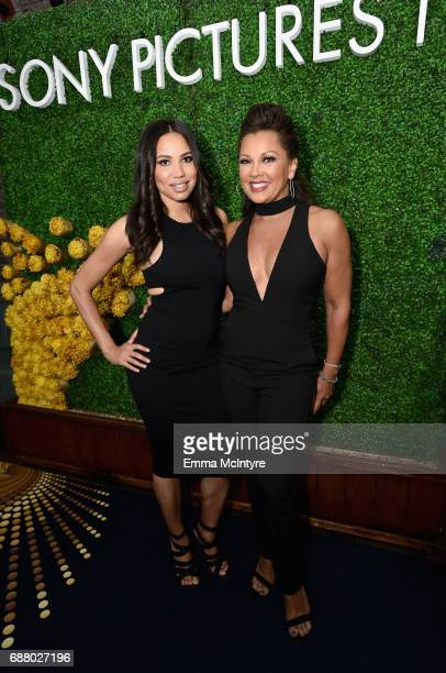Actors Jurnee Smollett-Bell and Vanessa Williams attend the Sony Pictures Television LA Screenings Party at Catch LA on May 24, 2017 in Los Angeles,...