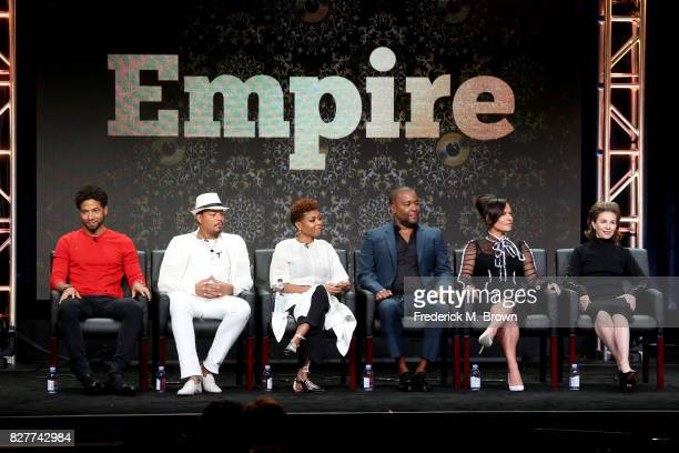 Actors Jussie Smollett Terrence Howard Taraji P Henson CoCreator/Writer/Executive Producer Lee Daniels and Executive Producers Sanaa Hamri and Ilene...