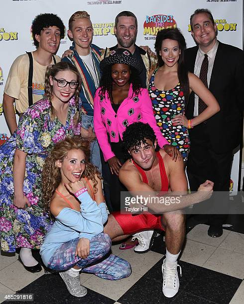 Actors Justin Cimino Sam Harvey Dustin Diamond Seth Blum Amanda Nicholas Shamira Clark Katie Mebane April Kidwell and John Duff attend the opening...