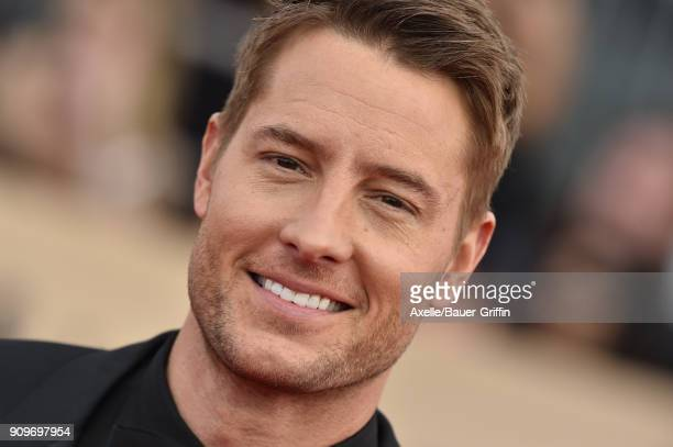 Actors Justin Hartley attends the 24th Annual Screen Actors Guild Awards at The Shrine Auditorium on January 21 2018 in Los Angeles California