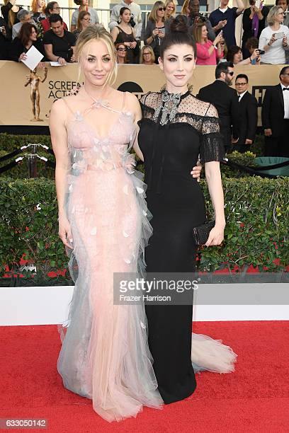 Actors Kaley Cuoco and Briana Cuoco attend The 23rd Annual Screen Actors Guild Awards at The Shrine Auditorium on January 29 2017 in Los Angeles...