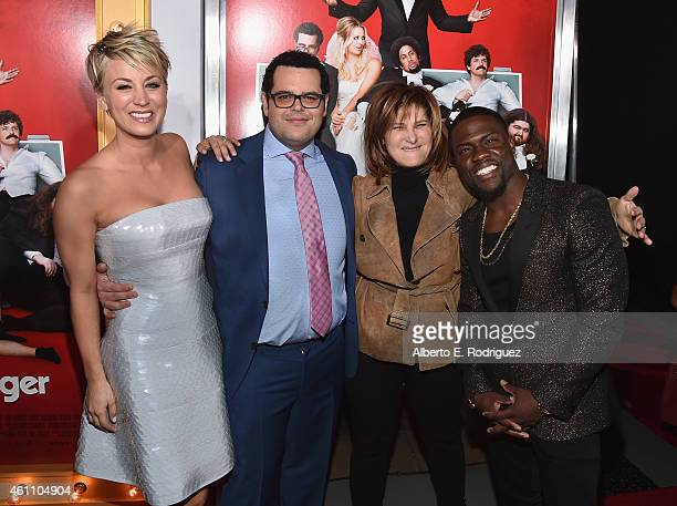 Actors Kaley CuocoSweeting Josh Gad Amy Pascal CoChairman of Sony Pictures Entertainment and Chairman of Sony Pictures Entertainment Motion Picture...