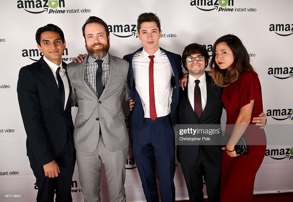 """Amazon Studios Launch Party To Celebrate Premieres Of Their 1st Original Series' """"Alpha House"""" And """"Betas"""" : News Photo"""