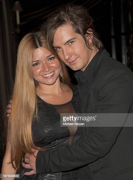 Actors Karen Koeningsberg and Andrew James Allen attends The Official Launch Party of Stacey Jackson's Debut Album Benefiting Breast Cancer Charities...