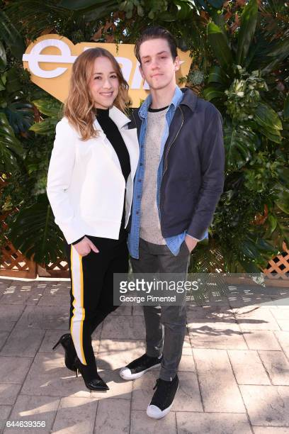 Actors Karine Vanasse and Rob Naylor attend the Canadian Brunch Reception Honoring Canadian Nominees For The 89th Academy Awards And The 32nd Film...