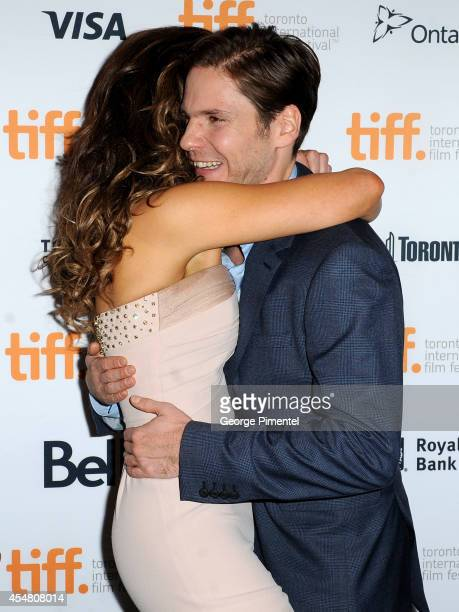 Actors Kate Beckinsale and Daniel Bruhl attend 'The Face Of An Angel' premiere during the 2014 Toronto International Film Festival at Winter Garden...