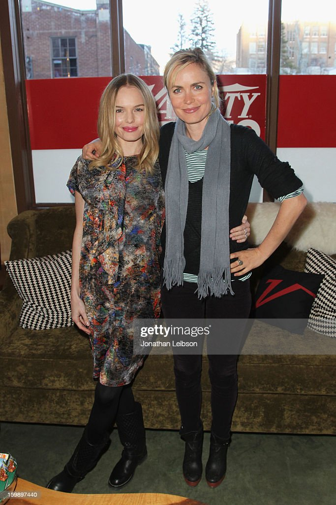 Actors Kate Bosworth and Radha Mitchell attend Day 4 of the Variety Studio at 2013 Sundance Film Festival on January 22, 2013 in Park City, Utah.