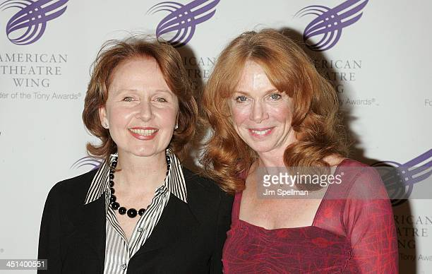 Actors Kate Burton and Amy Van Nostrand attend the 2010 American Theatre Wing Spring Gala at Cipriani 42nd Street on June 7 2010 in New York City