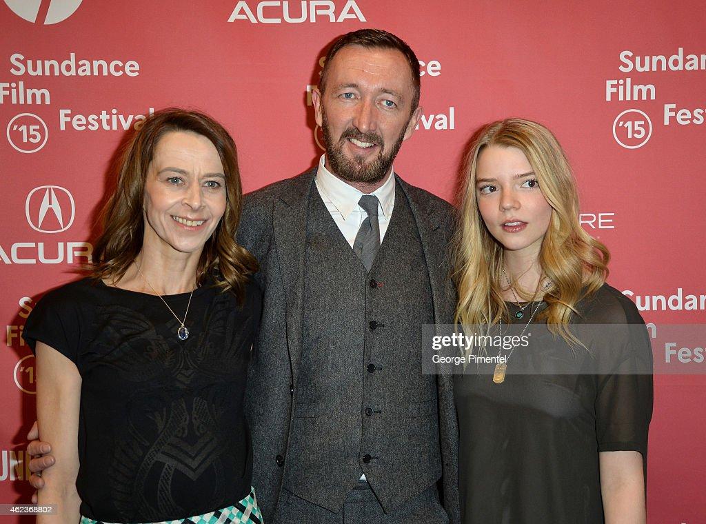 Actors Kate Dickie, Ralph Ineson and Anya Taylor Joy ...