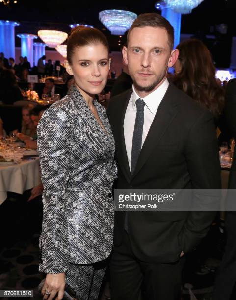 Actors Kate Mara and Jamie Bell attend the 21st Annual Hollywood Film Awards at The Beverly Hilton Hotel on November 5 2017 in Beverly Hills...