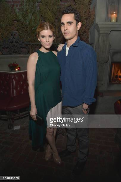 Actors Kate Mara and Max Minghella attend Vanity Fair and FIAT celebration of 'Young Hollywood' during Vanity Fair Campaign Hollywood at No Vacancy...