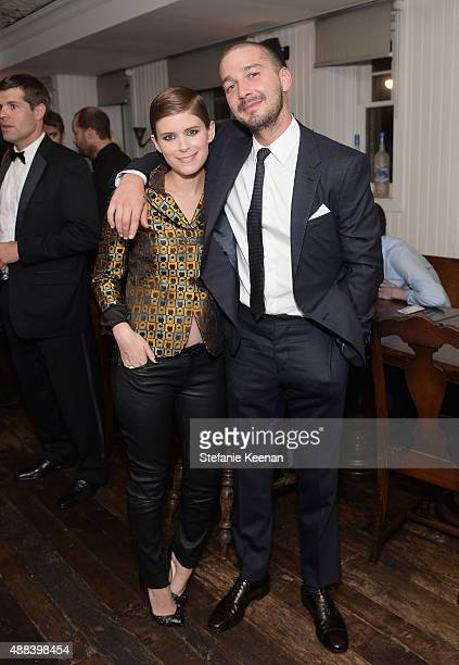 Actors Kate Mara and Shia LaBeouf attend the Man Down TIFF party hosted by GREY GOOSE Vodka and Soho Toronto at Soho House Toronto on September 15...