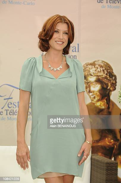 Actors Kate Walsh attends a photocall for the American TV series 'Private Practice' during the 2009 Monte Carlo Television Festival held at Grimaldi...