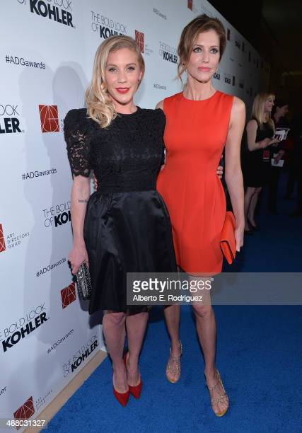 Actors Katee Sackhoff and Tricia Helfer arrive to the 18th Annual Art Directors Guild Exellence In Production Design Awards at The Beverly Hilton...