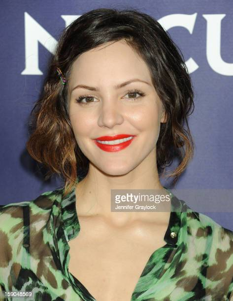 Actors Katharine McPhee attends NBC Winter TCA Press Tour held at the Langham Huntington Hotel and Spa on January 6 2013 in Pasadena California
