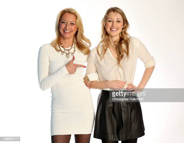 Actors Katherine LaNasa and Ella Rae Peck attend the NBCUniversal 2013 TCA Winter Press Tour at The Langham Huntington Hotel and Spa on January 6...