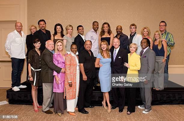 Actors Kathleen Munroe, Ed Asner, Donna Mills, Cicely Tyson, Cheech Marin, Jane Seymour, Executive Vice President, Programming, Hallmark Channels...