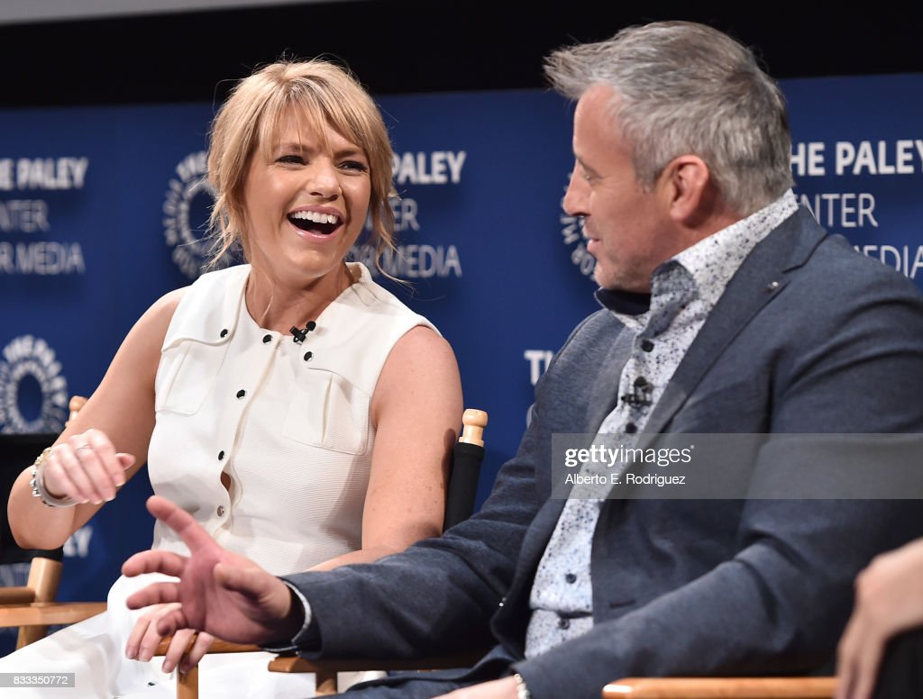 Actors Kathleen Rose Perkins and Matt LeBlanc attends the 2017 PaleyLive LA Summer Season Premiere Screening And Conversation For Showtime's 'Episodes' at The Paley Center for Media on August 16, 2017 in Beverly Hills, California.
