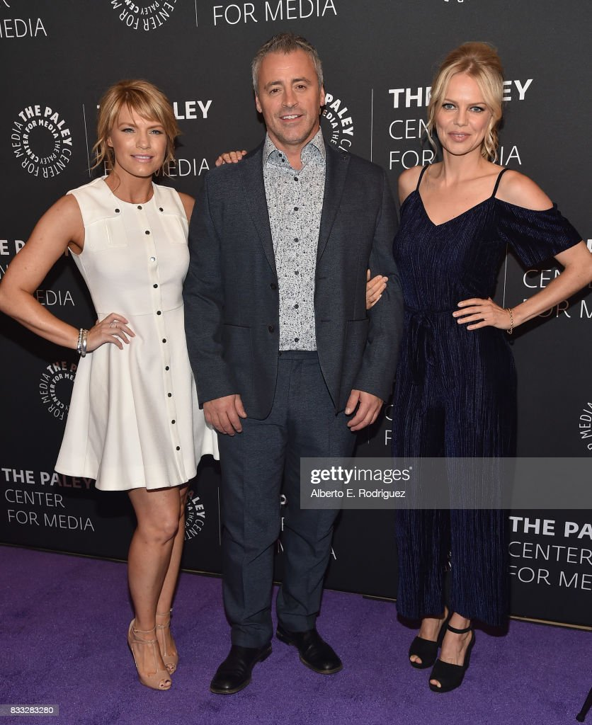 Actors Kathleen Rose Perkins, Matt LeBlanc and Mircea Monroe attends the 2017 PaleyLive LA Summer Season Premiere Screening And Conversation For Showtime's 'Episodes' at The Paley Center for Media on August 16, 2017 in Beverly Hills, California.