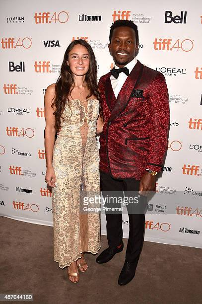 Actors Kathryn Aboya and Emmanuel Kabongo attend the Demolition premiere and opening night gala during the 2015 Toronto International Film Festival...