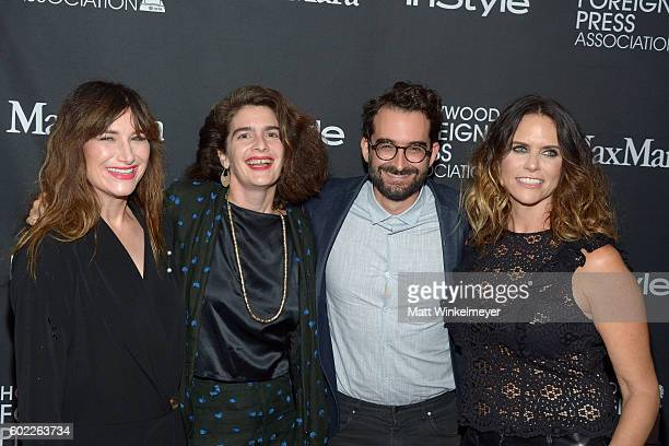 Actors Kathryn Hahn Gaby Hoffmann Jay Duplass and Amy Landeckerattends the TIFF/InStyle/HFPA Party during the 2016 Toronto International Film...