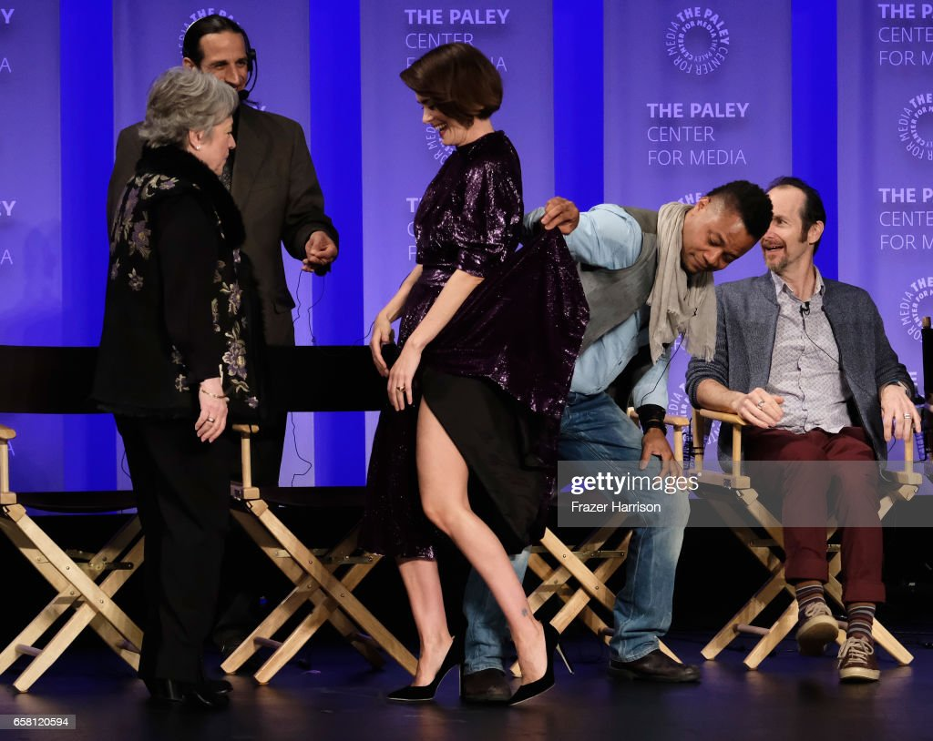 "The Paley Center For Media's 34th Annual PaleyFest Los Angeles - ""American Horror Story: Roanoke"" - Inside : News Photo"