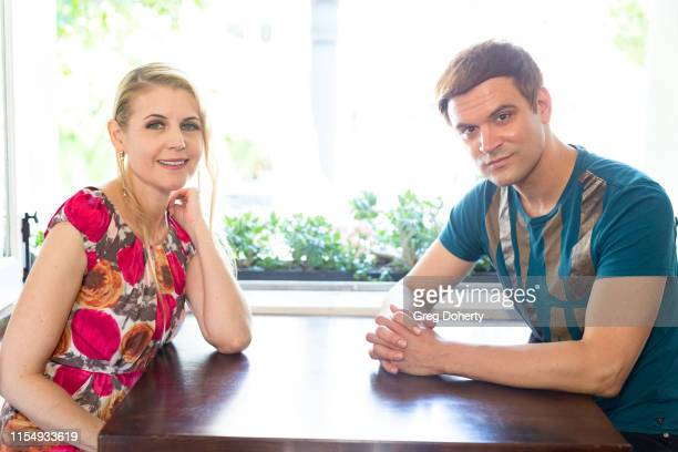 Actors Kathy Kolla and Kash Hovey attend the 5th Annual Team Up for Tourette's Red Carpet Brunch And Fundraiser at Preux Proper on June 09 2019 in...