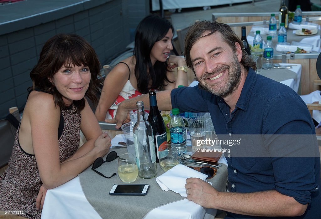 Actors Katie Aselton and Mark Duplass attend the Hollywood Bowl Opening Night at the Hollywood Bowl on June 18, 2016 in Hollywood, California.