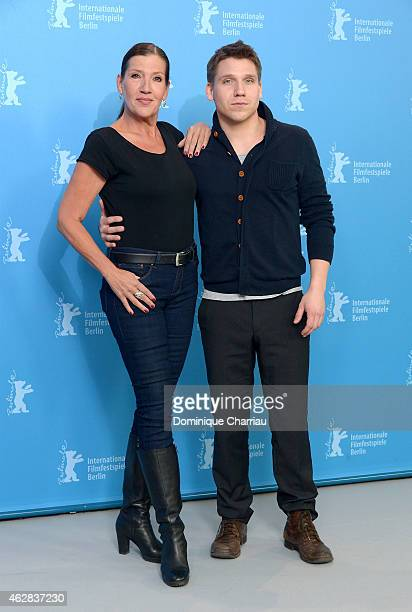 Actors Katy Karrenbauer and Hanno Koffler attend the 'Tough Love' photocall during the 65th Berlinale International Film Festival at Grand Hyatt...