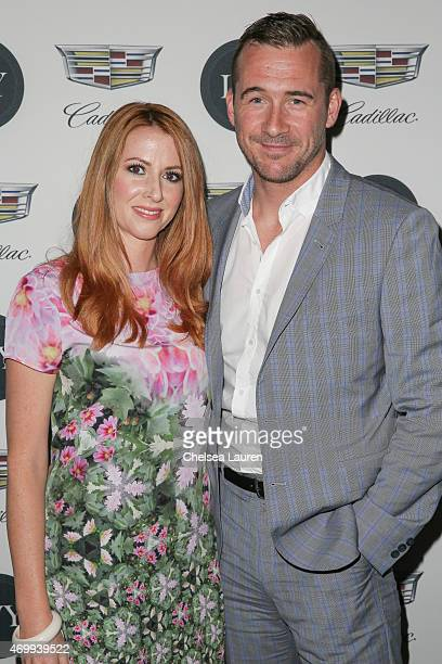 Actors Katy O'Grady and Barry Sloane attend the IVY Los Angeles innovator dinner presented by Cadillac and IVY at AOC on April 15 2015 in Los Angeles...