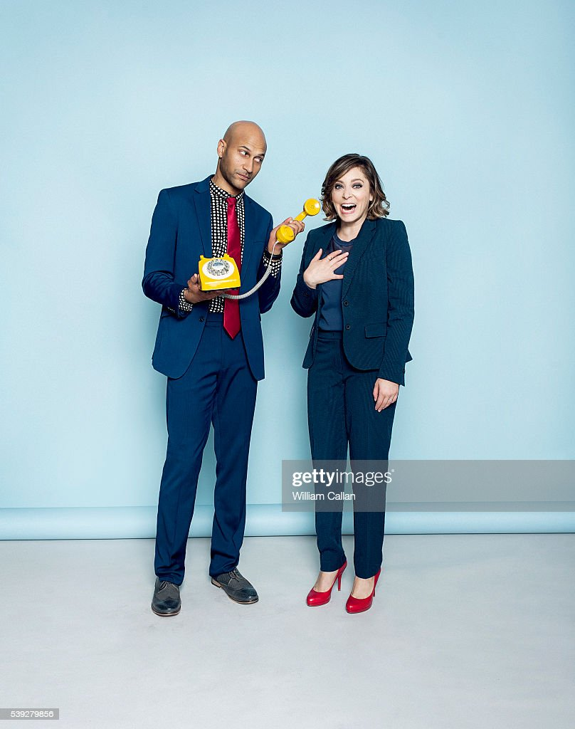 Keegan-Michael Key and Rachel Bloom, The Wrap, May 26, 2016
