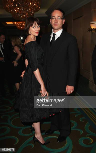 Actors Keeley Hawes and Matthew McFadyen attend the Afterparty for the premiere of 'Frost/Nixon' at the opening gala for the BFI 52nd London Film...