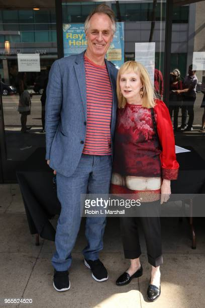 Actors Keith Carradine and Sondra Locke attend the screening of Alan Rudolph's Ray Meets Helen at Laemmle's Music Hall 3 on May 6 2018 in Beverly...