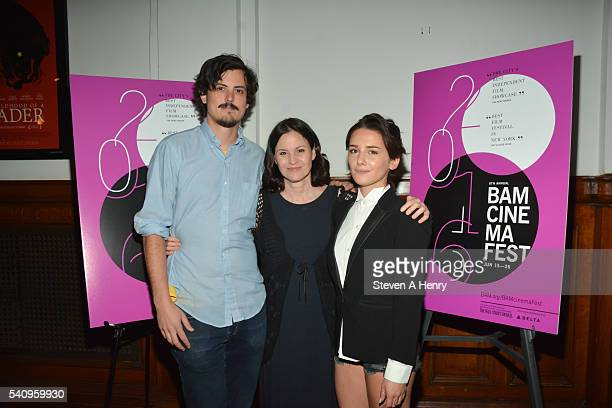 Actors Keith Poulson Ally Sheedy and Addison Timlin attend the BAMcinemaFest 2016 Little Sister premiere at BAM Rose Cinemas on June 17 2016 in New...