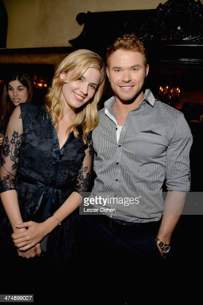 Actors Kellan Lutz and Maggie Grace attend Vanity Fair and FIAT celebration of 'Young Hollywood' during Vanity Fair Campaign Hollywood at No Vacancy...