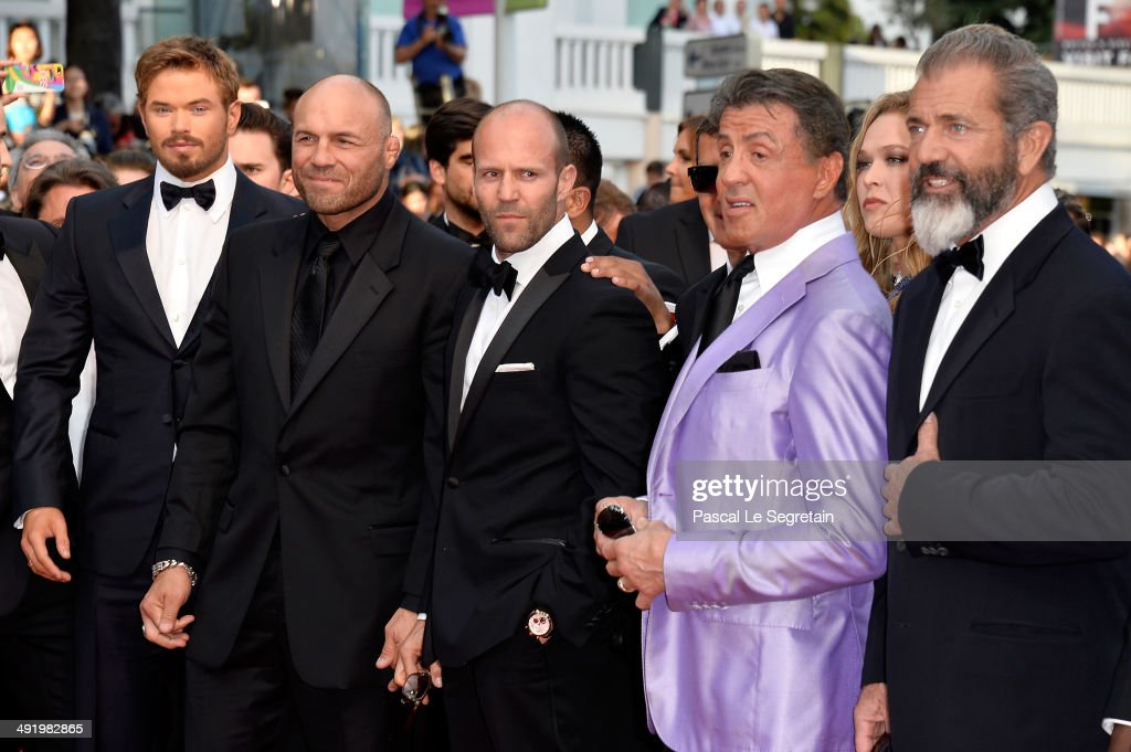 """""""Expendables 3"""" Red Carpet - The 67th Annual Cannes Film Festival : News Photo"""