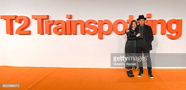 Actors Kelly Macdonald and Ewan McGregor attend the World Premiere of T2 Trainspotting at Cineworld on January 22 2017 in Edinburgh United Kingdom
