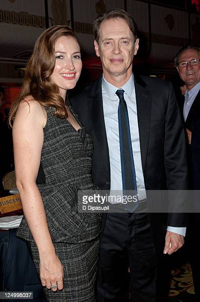 Actors Kelly Macdonald and Steve Buscemi attend the 'Boardwalk Empire' Season 2 premiere after party at the The Waldorf=Astoria on September attends...
